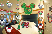 Holiday Stateroom Decorations